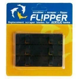 Fl!pper Standard - Flipper for aquariums up to 12mm. Replacement Stainless Steel Blades